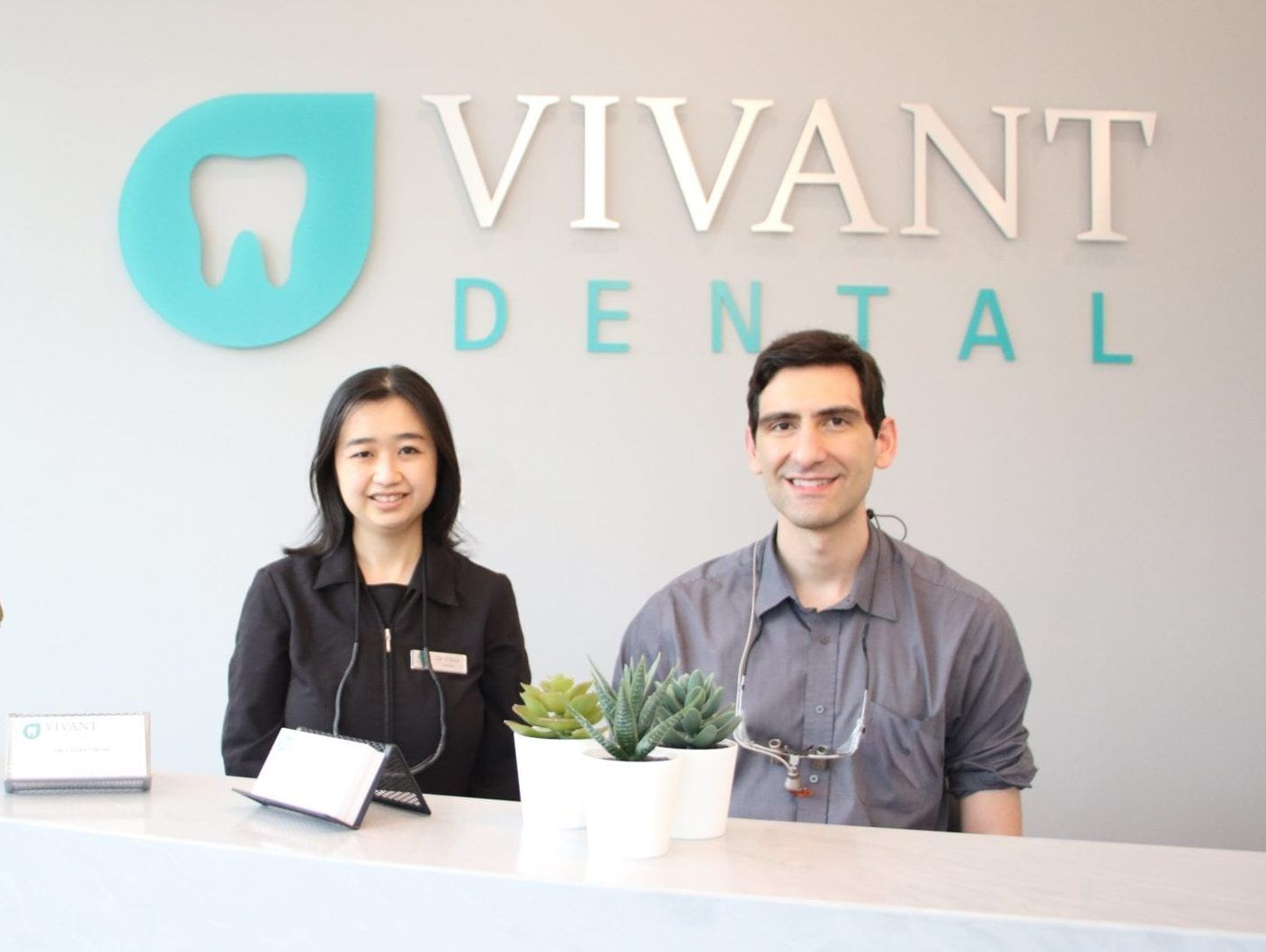 Surrey, Panorama, Sullivan, Cloverdale, and South Surrey Dentists Vivian Chow and Anthony Bellusci